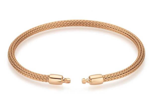 Flexarmband aus Roségold 16cm lang