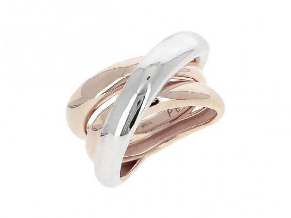 Pesavento Polvere Ring in Bicolor