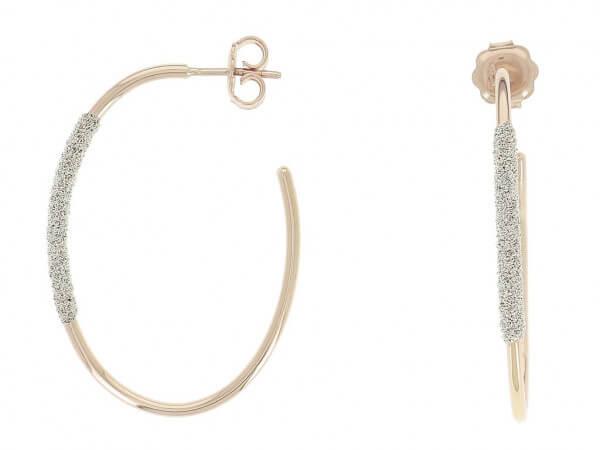 Pesavento Ohrringe mit Diamantstaub