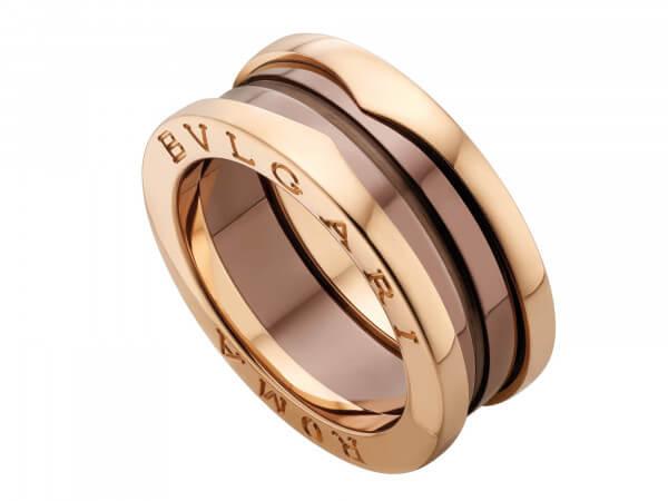 Bulgari Bzero1 Roma Ring 2 Bänder