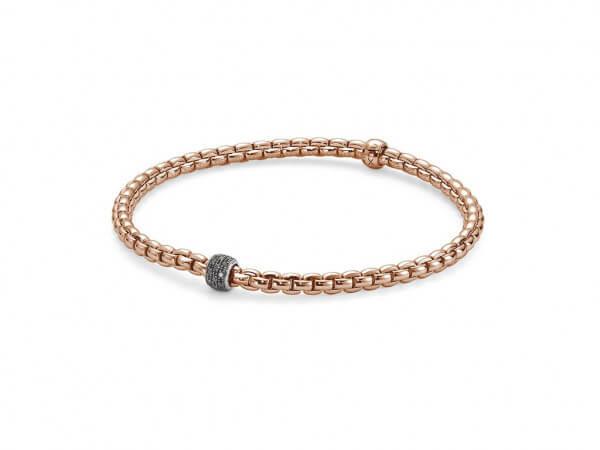 Fope Eka Tiny Armband Roségold,Diamanten