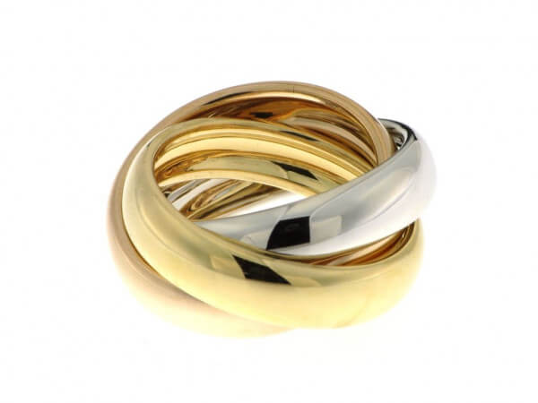 Ring Tricolor, Ringbreite pro Ring 5,5mm