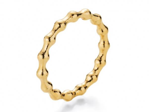 Ring Flooow aus Gelbgold
