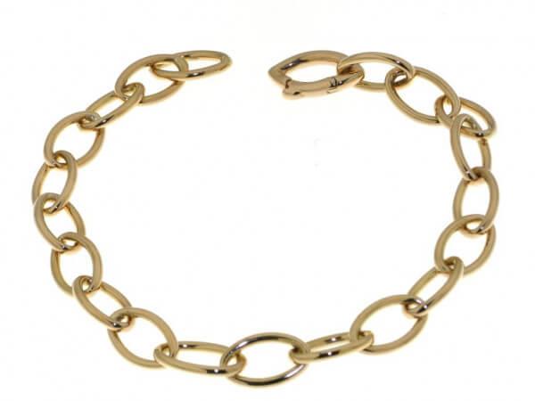 Armband aus Roségold 20cm lang