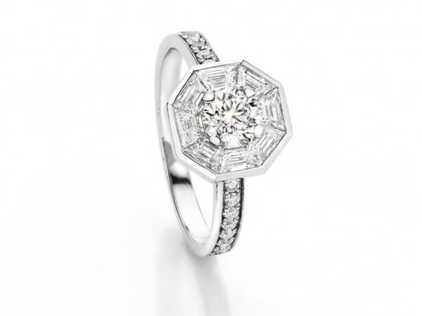 Ring Unikat von Hofen mit Diamanten