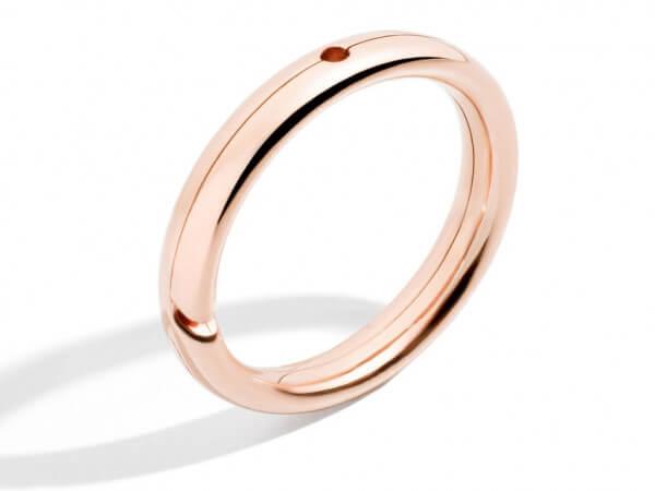 Dodo Brise Ring aus Roségold