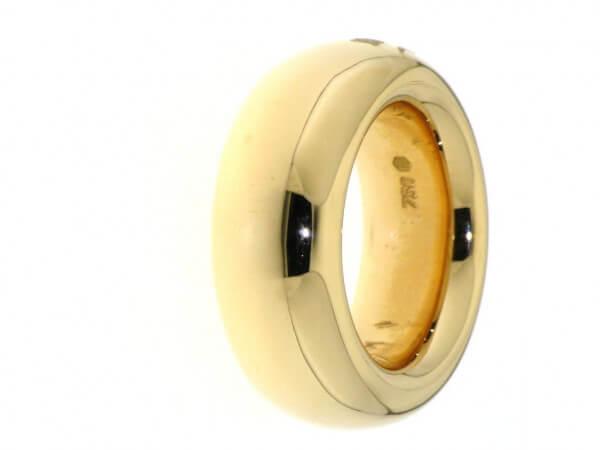 Ring 750 Roségold 9,5mm leicht gespannt