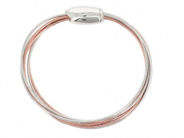 Pesavento DNA Armband 7 reihig bicolor