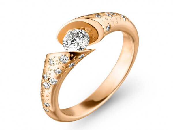 Schaffrath CallW Ring aus Roségold
