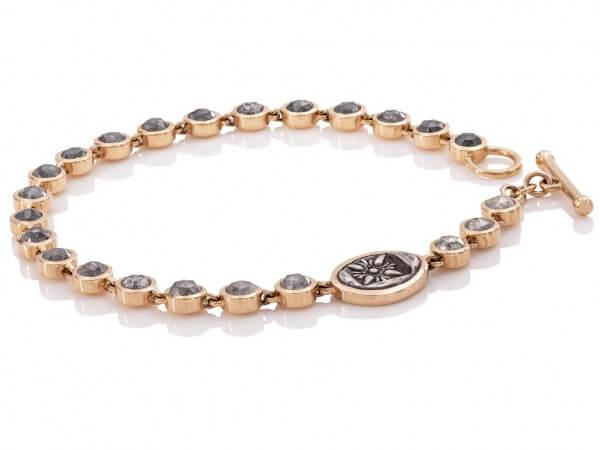 Twentyten Diamantarmband Sternornament