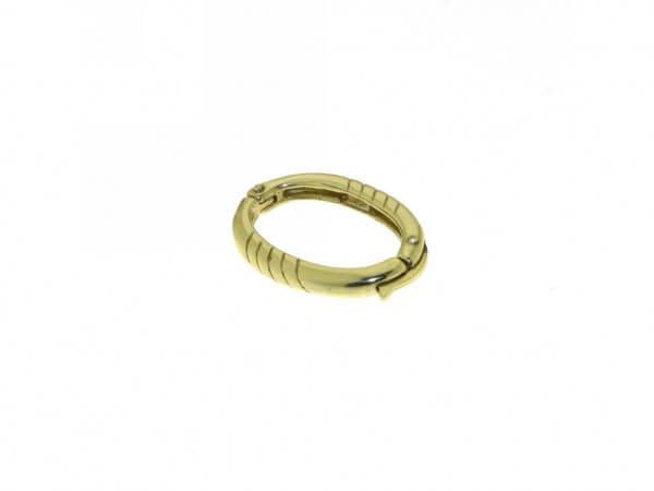 Kettenclip-Verkürzer Silber vergoldet