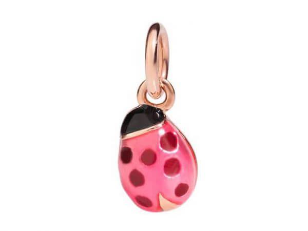 Dodo Marienkäfer Rosegold pink Emaillie