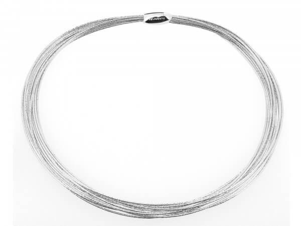Pesavento DNA Colier 7reihig Silber