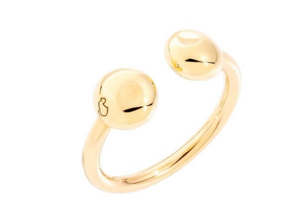 Dodo Pepita Ring aus 750 Gelbgold