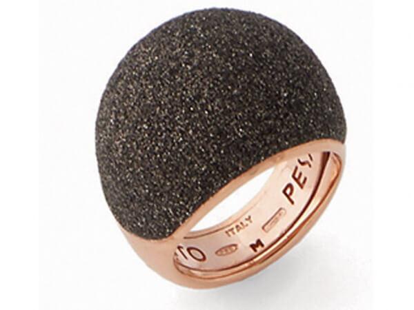 """Pesavento Ring """"polvere di sogni"""" braun"""
