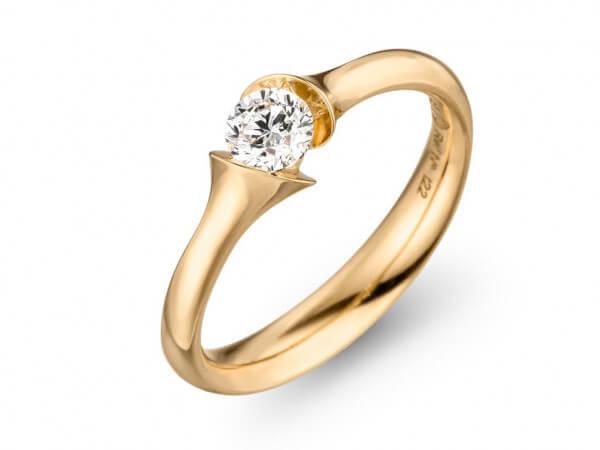 Schaffrath Calso Ring aus Gelbgold