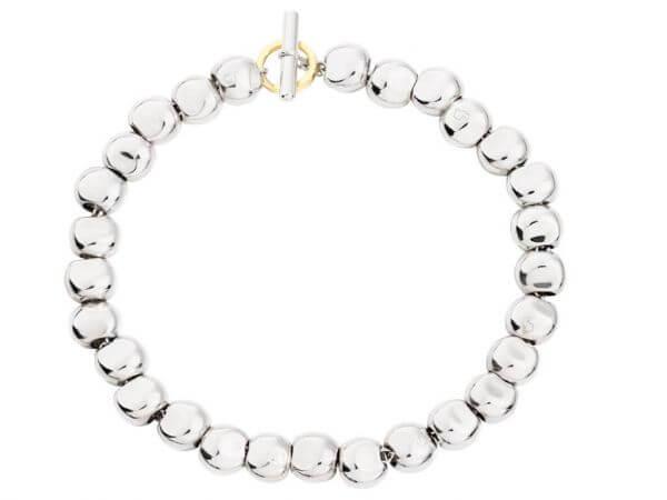 Dodo Armband Silber mit kleinen Pepitas