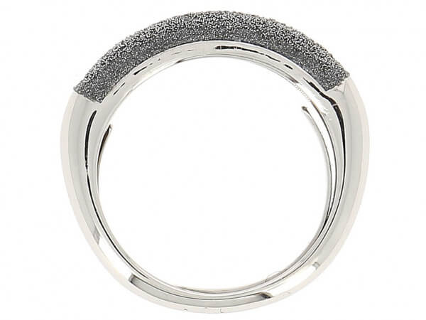 Pesavento Ring mit grauem Diamantstaub