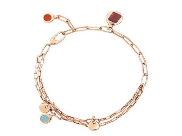Dodo Bazaar Armband Silber goldplattiert