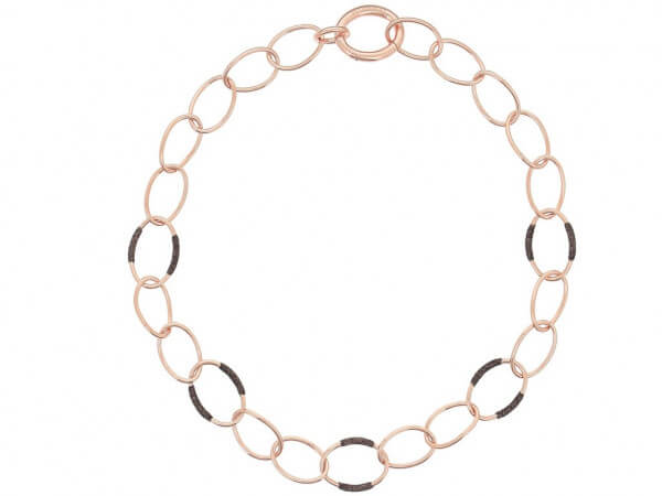 Pesavento Halskette Polvere braun