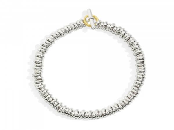 Dodo Rondelle Armband aus Silber