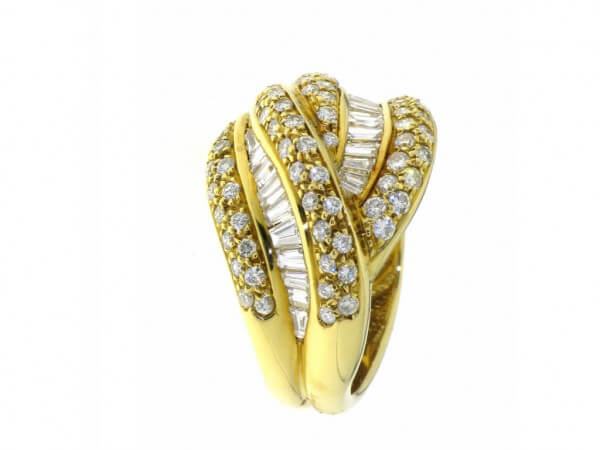 Ring 750 Diamanten und Brillanten
