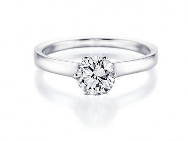 """Solitär Ring """"Soiree by von Hofen"""""""