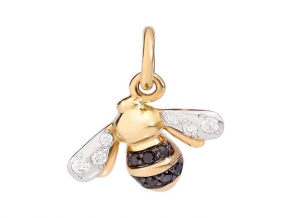 Dodo Biene schwarze,weiße Diamanten