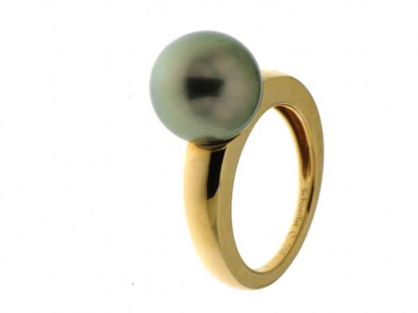 Ring Roségold mit Tahiti Perle 11-12 mm