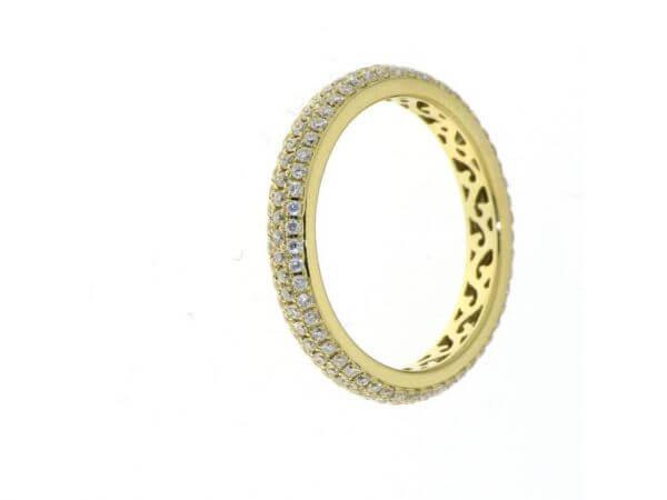 """Ring """"Allure"""" aus Gelbgold 3,21 mm breit"""