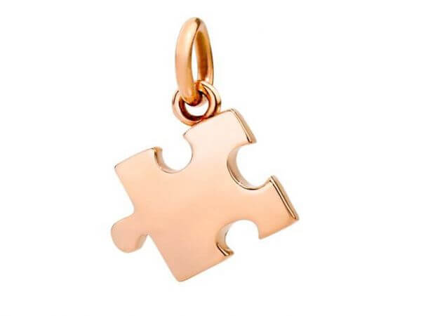 Dodo Puzzle-Anhänger rechte Ausführung