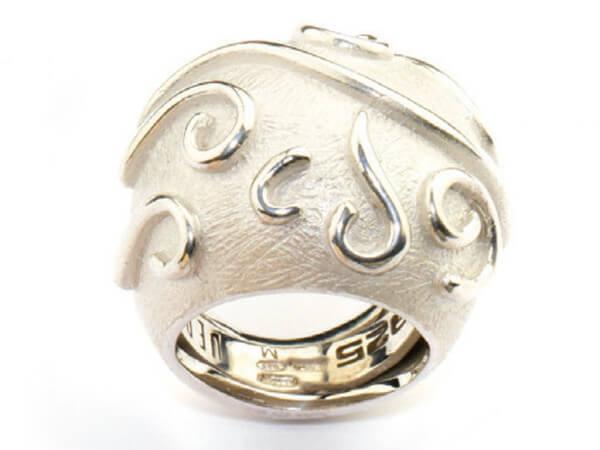 "Pesavento Ring Silber "" Jungle """
