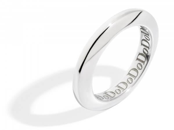 Dodo Disc Ring aus Silber