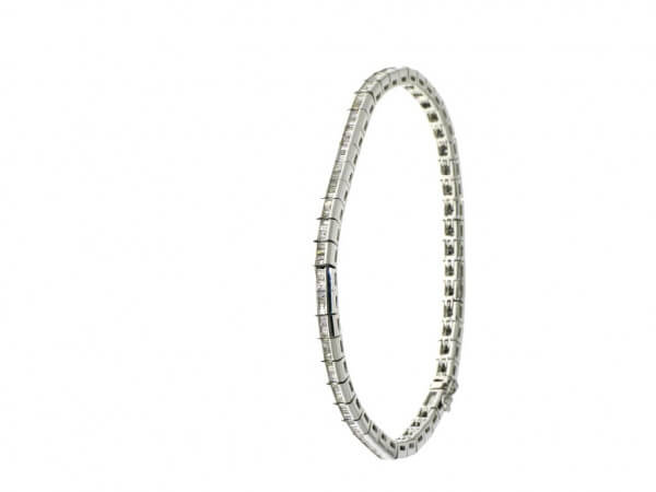 Diamant Armband in 750 Weißgold