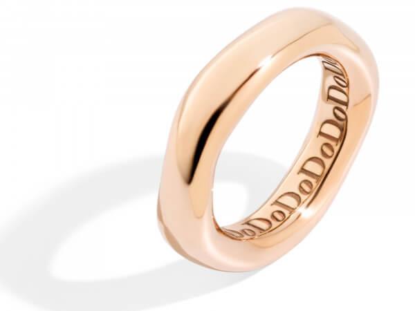 Dodo irregular Ring aus Roségold