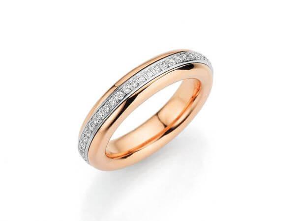 """Ring """"Tango Brillant"""" mit 51 Brillanten"""
