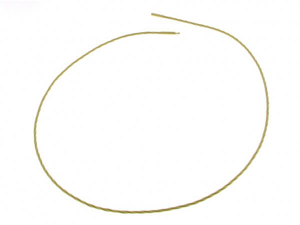Spiralcollier 750 Gelbgold 1,8 mm