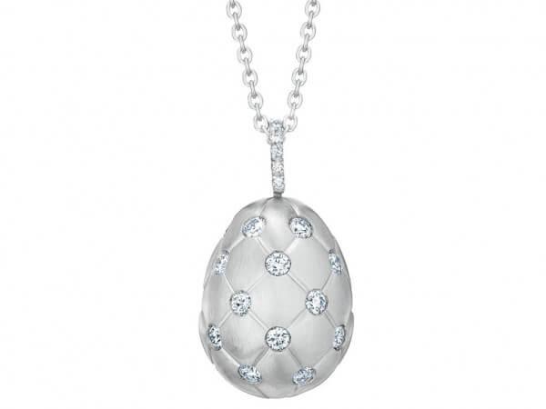 """Fabergé EI """" Treillage Diamond"""" Weißgold"""