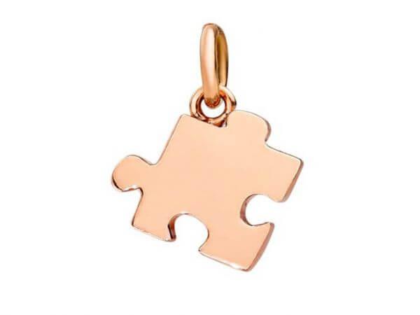 Dodo Puzzle-Anhänger linke Ausführung