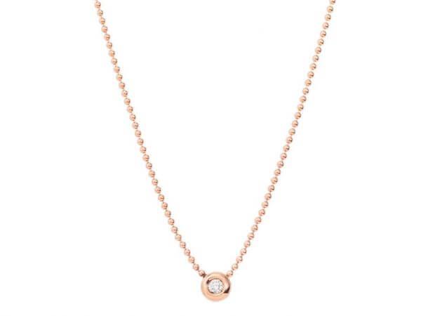 Dodo Bollicine Kette mit Diamant