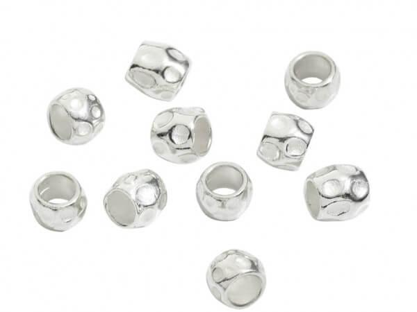 Dodo Säckchen mit 10 Körnchen in Silber