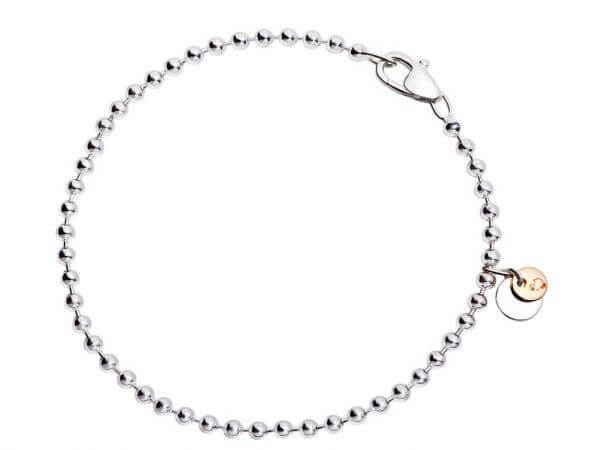 Dodo Bollicine Armband aus Silber 17cm