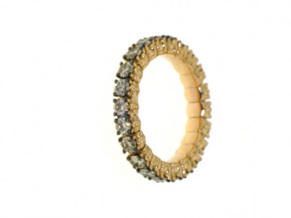 Memoire Ring Roségold dehnbar von 52-58