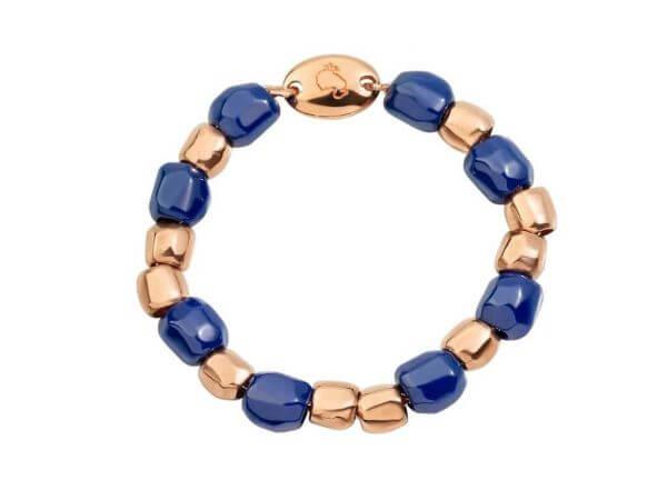 Dodo Mini Granelli Ring Roségold/Keramik