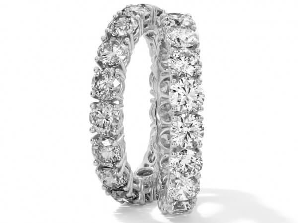 Memoire Ring aus Platin 25 Brillanten