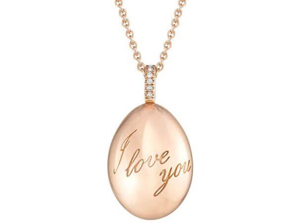 Fabergé Essence Ei-Anhänger I Love You