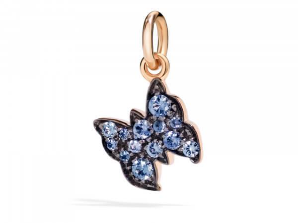 Dodo Charms Schmetterling mit Safiren