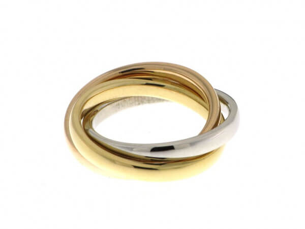 Ring tricolor, Ringbreite pro Ring 2,7mm