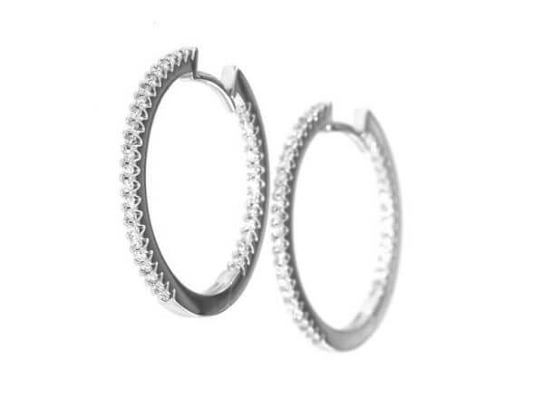 Scharniercreolen Durchmesser 24 mm