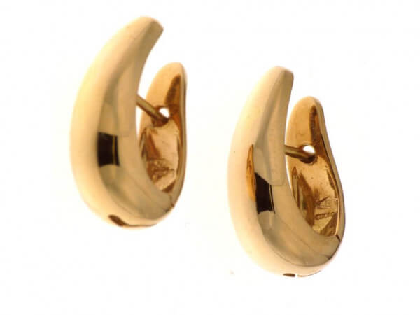 Creolen 15 x 20 mm und 3,5-7,7mm breit